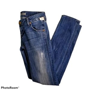 Hudson skinny jeans Style #W427DHA size 25